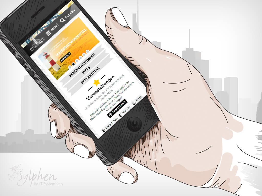 Frankfurt-Tipp.de - Mobile © Sylphen GmbH & Co. KG