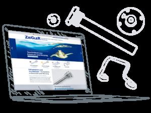 Ziegler - Screendesign © Sylphen GmbH & Co. KG