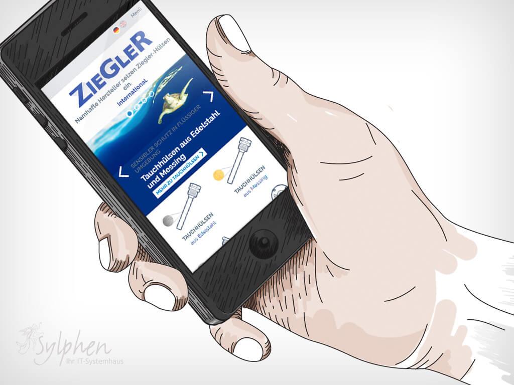 Ziegler - Mobile © Sylphen GmbH & Co. KG